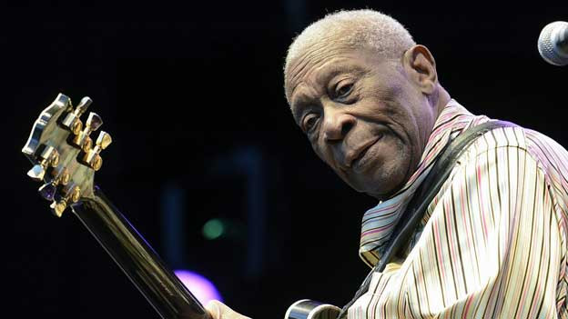 2012 stand die Blues-Legende B.B.King in Zürich auf der Bühne.