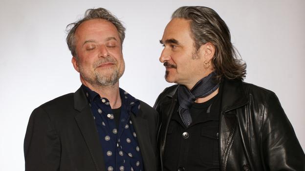 Hank Shizzoe und Stephan Eicher