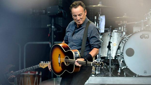 Bruce Springsteen: Gleich drei Coversongs auf einem Album.