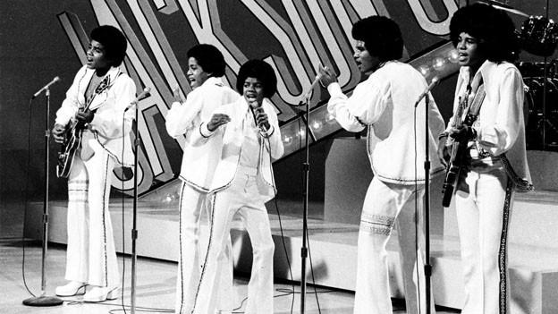 Jackson 5 auf der Bühne