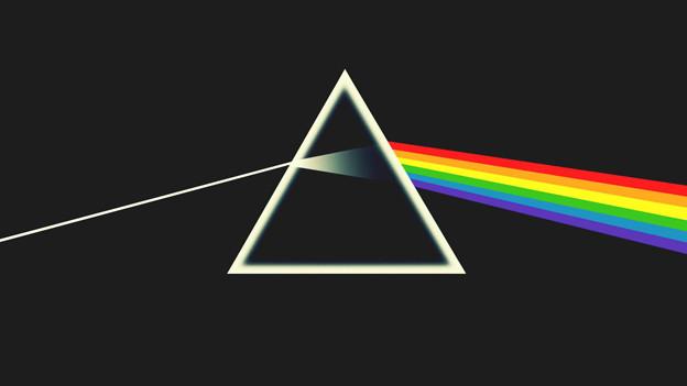 """Nicht nur die Musik ist legendär, auch das Albumcover: Pink Floyds """"The Dark Side of the Moon"""""""