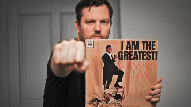 Pop-Routes-Redaktor DJ Pesa huldigt Muhammad Ali.