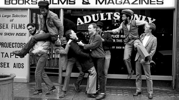 Die jungen UB 40 in Birmingham.