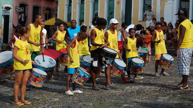 Bahia Trommler.