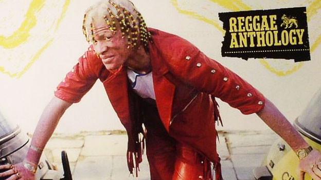 Yellowman auf dem Album-Cover.