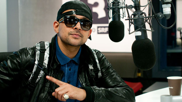 Sean Paul im SRF 3 Studio