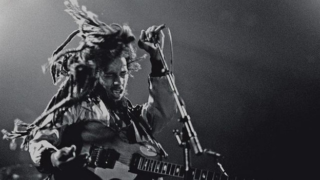Bob Marley 1980 im Zürcher Hallenstadion.