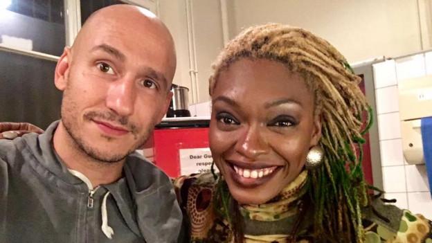 Am ETD Reggae Festival in der Roten Fabrik traff Reggae Special Macher Lukie Wyniger wieder auf Shuga