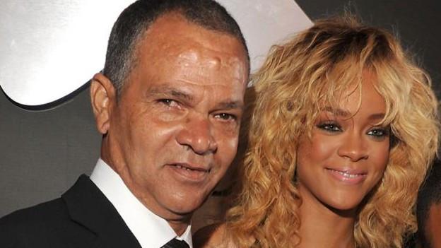 Ronald Fenty zusammen mit seiner Tochter Rihanna