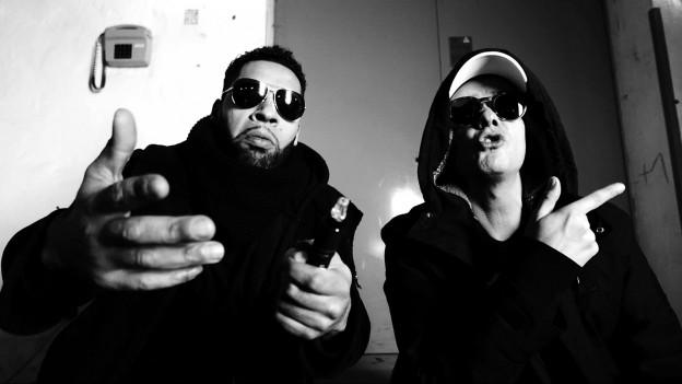 Rapper Megaloh und Dancehall-Rudeboy Trettman