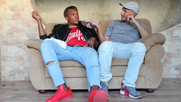 Prohgres im Interview mit Reggae Special-Macher Lukie Wyniger in Jamaika