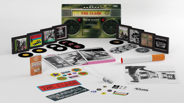 Mit Riesenzigarette: «The Clash Sound System».