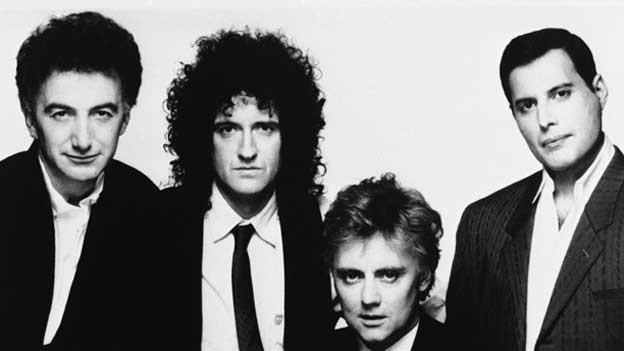 Da war die Rockgruppe Queen schon längstens etabliert: Aufnahme von 1989.