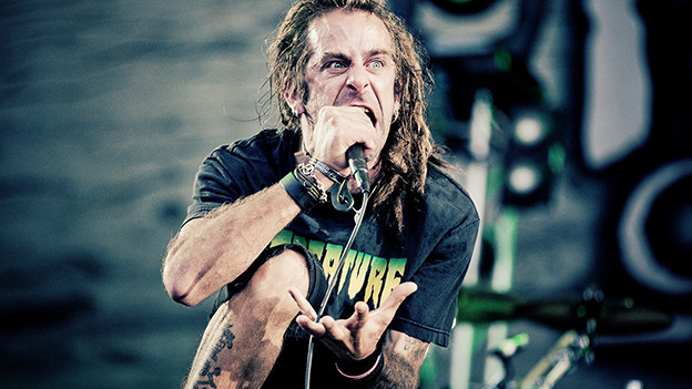 Randy Blythe von Lamb of God.