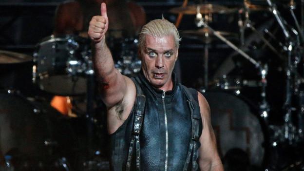 Rammstein: Sänger Till Lindemann.