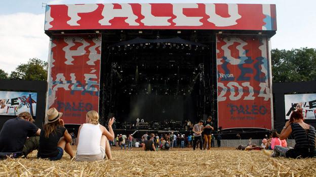 Auch das Paleo Festival wurde verregnet.
