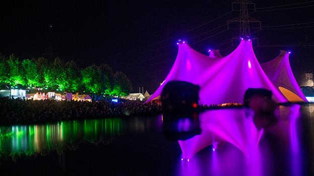 Magische Stimmung am diesjährigen Paléo Festival Nyon.