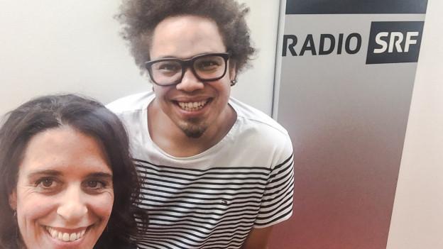 Marc Sway und Rahel Giger lächeln um die Wette- wie gelingt die Leichtigkeit des Seins auf brasilianische Art?