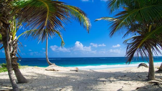 Noch wenige Schritte und wir tauchen ab. Ferienfeeling pur – von Insel zu Insel