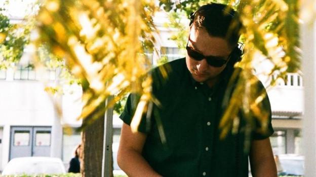 Vinyl-Crack Ivan Alejandro Becerro aka «Condor» in seinem Element.