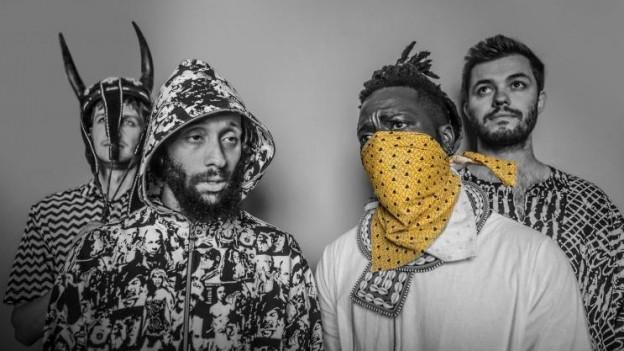 Mawimbi bringen mit ihrem Electro Afrika auf die Tanzfläche bis die Boxen bersten