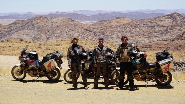 Mit dem Motorrad von Zürich nach Kapstadt
