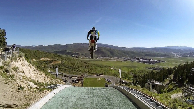 Robbie Maddison: Motorrad-Stuntman
