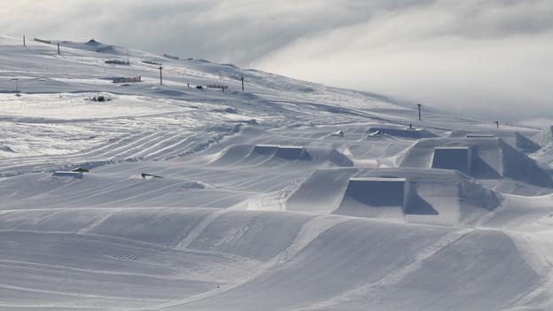 Snowpark Ils Plauns in Laax