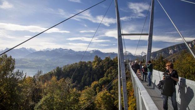 Panoramabrücke Sigriswil.