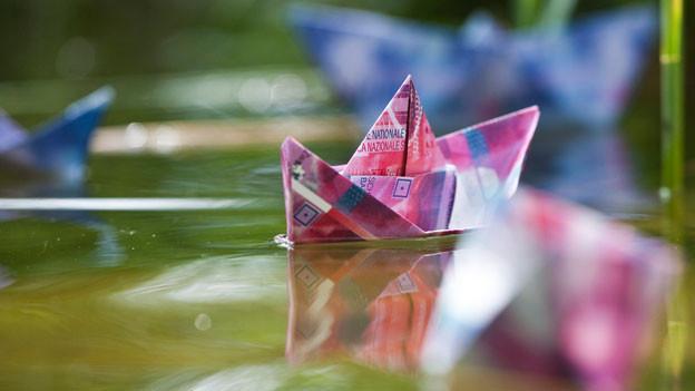 Wann habt ihr zum letzten Mal ein Papierschiff gefaltet?