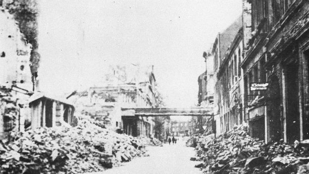 Nach dem zweiten Weltkrieg herrschte in weiten Teilen Europas Zerstörung
