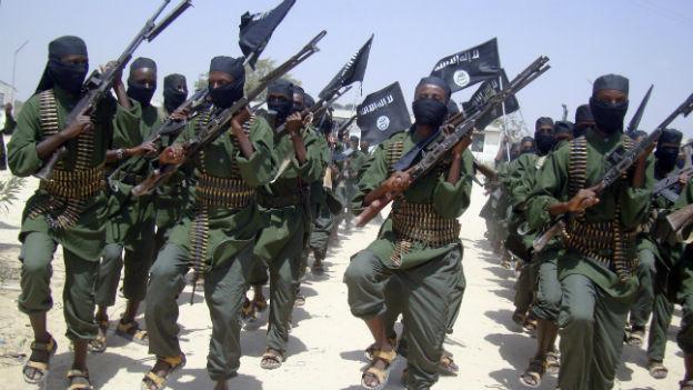 Kämpfer der Al Shabaab-Miliz