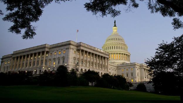 Das Capitol in Washington: Nun ist der US-Verwaltungsapparat teilweise lahmgelegt.