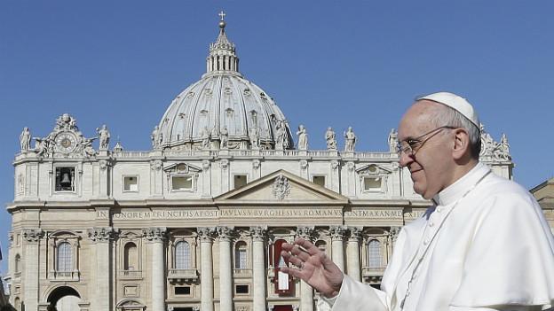 Will die Römische Kurie reformieren: Papst Franziskus und die Gruppe der C8-Kardinäle.