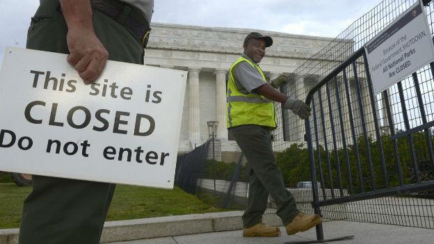 Shutdown USA.