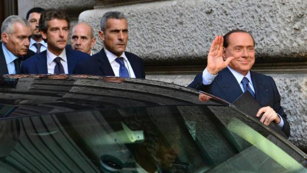 Sorgt einmal mehr für Unruhe in der italienischen Politik: Ex-Premier Silvio Berlusconi.