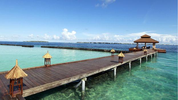Luxus Resort Kurumba Resort auf den  Maldiven.