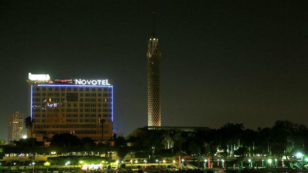 In der Nacht ist es in Kairo wegen der Ausganssperre ruhig.