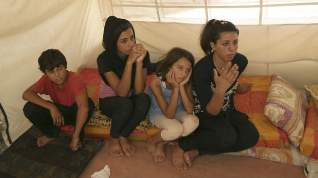 Alles verloren: syrische Flüchtlinge im Irak.