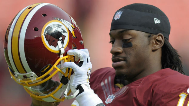 Robert Griffin - Quarterback der «Redskins».