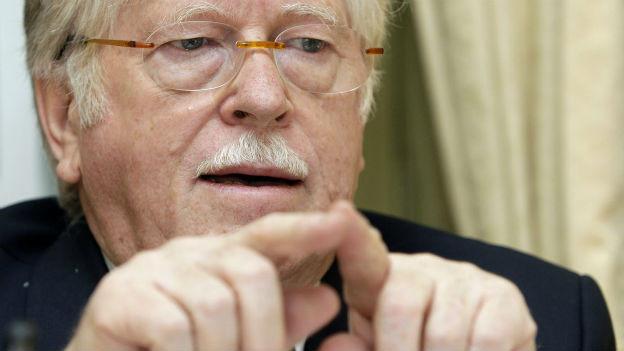 Walter Fust war jahrelang DEZA-Direktor.