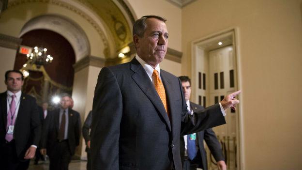 Die Republikaner (hier ihr Sprecher im Repräsentantenhaus, John Boehner) müssen eine Niederlage einstecken.