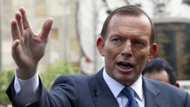 Tony Abbott verkündet erste umweltpolitische Massnahmen.