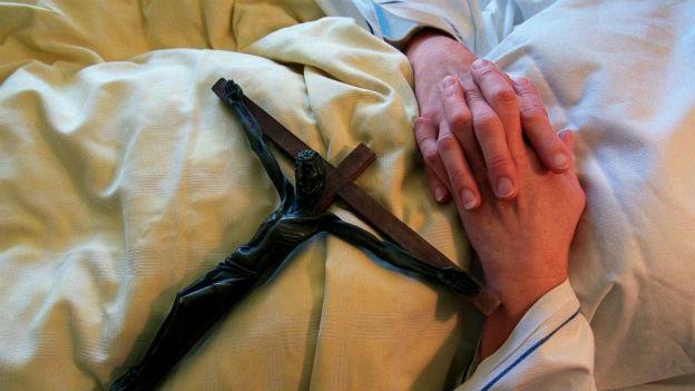 Symbolbild für Sterbehilfe.