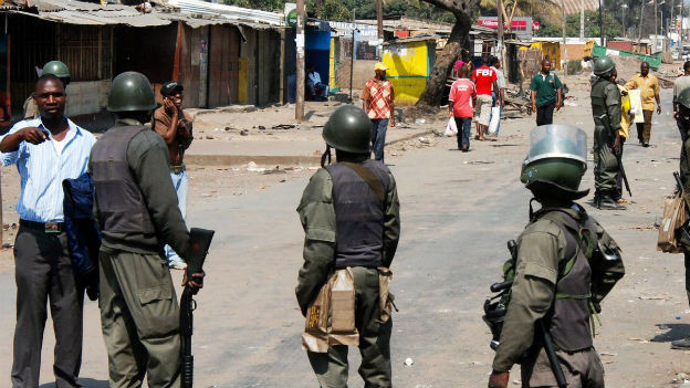 Politische Spannungen in Mozambique nehmen zu.