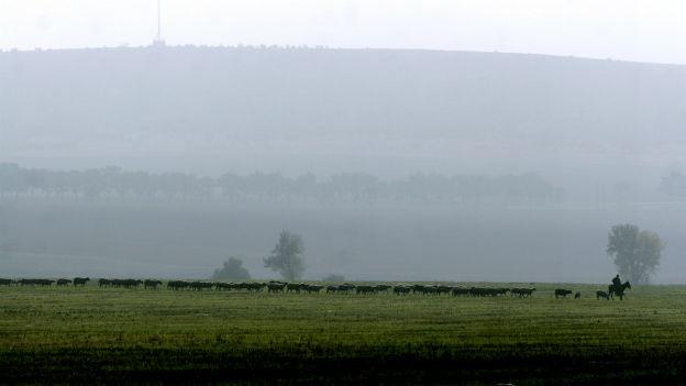 Bulgarische Landschaft.
