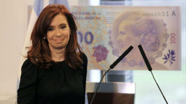 Schlechte Umfragewerte: Argentiniens Präsidentin Cristina Fernandez de Kirchner.