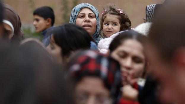 Syrische Flüchtlinge in Bulgarien.