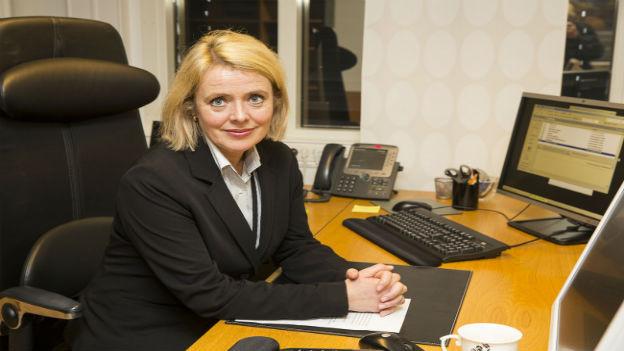 Marie Benedicte Bjoernland,die norwegische Geheimdienstchefin.