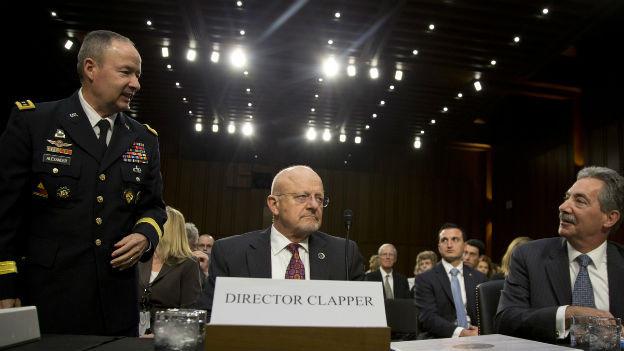 Anhörung der Spitze des US-Geheimdienstes in der Affäre Snwoden.